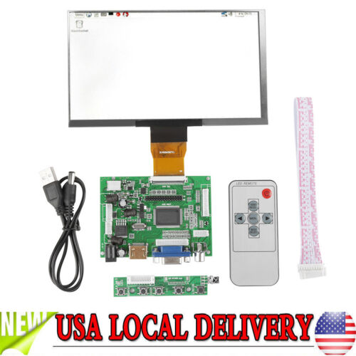 7inch 1024*600 LCD TFT Display HDMI VGA Monitor Screen Kit f