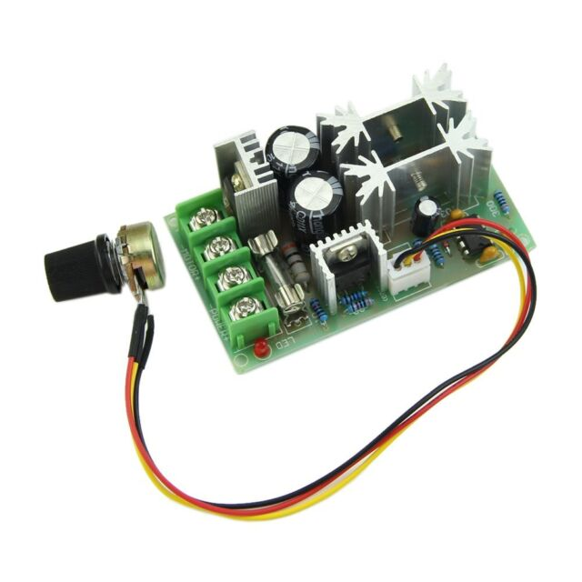 Universal DC10-60V 20A PWM HHO RC Motor Speed Regulator Controller Switch HY