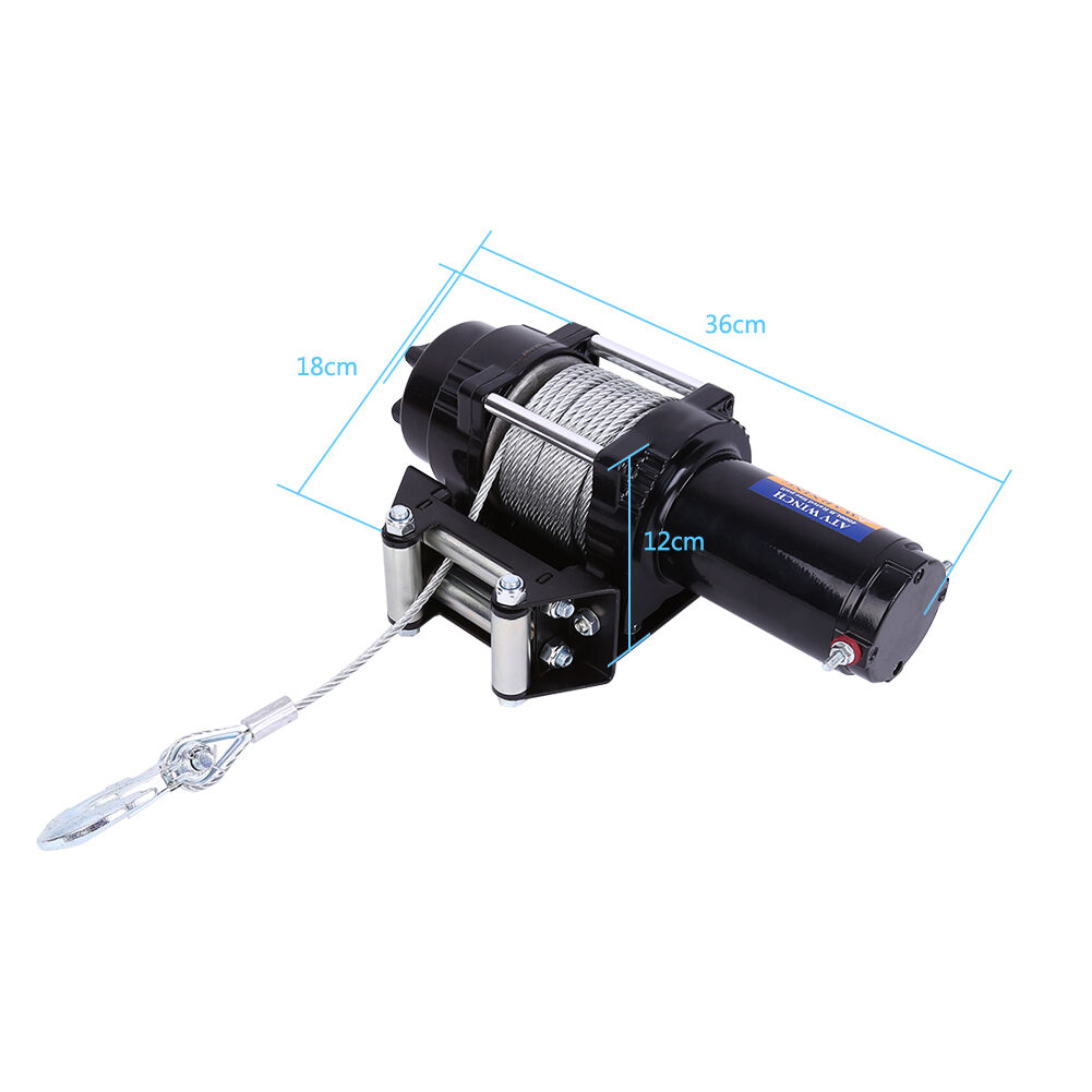 Trailer And Vehicle Electric Winch Wiring Kit For Up To Boat Diagram Tagstrailer Tosherpa 4x4 Winchtuff Stuff 22 Permanent Frontrear