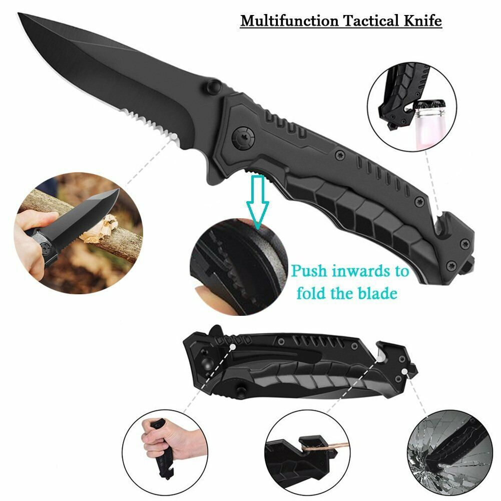 11 in 1 Emergency Camping Survival Equipment Kit Outdoor Tactical Gear Tool Set 3