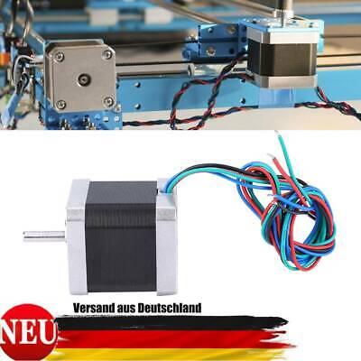 Nema 17 Stepper Motor 46Ncm 2A 48mm Schrittmotor 4 Drähte f 3D Drucker
