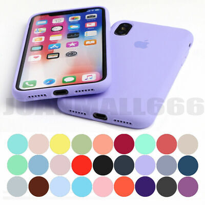 For iPhone 11 Pro Max XS 8 7 Plus Shockproof Slim Soft Silicone Phone Case Cover