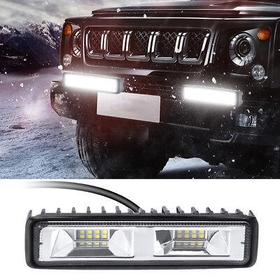 48W 16LEDs LED Arbeitscheinwerfer Flutlicht Nebel Lampe Strahler SLKW SUV 12V
