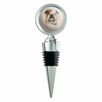 Bulldog Dog Breed Wine Bottle Stopper