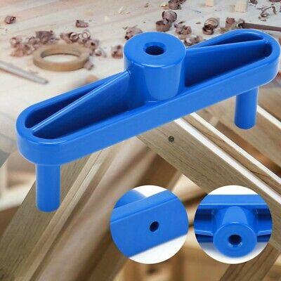 Carpintería Trazar Calibre Fijo Measure-Line Regla Doweling Jig Taladro Guía