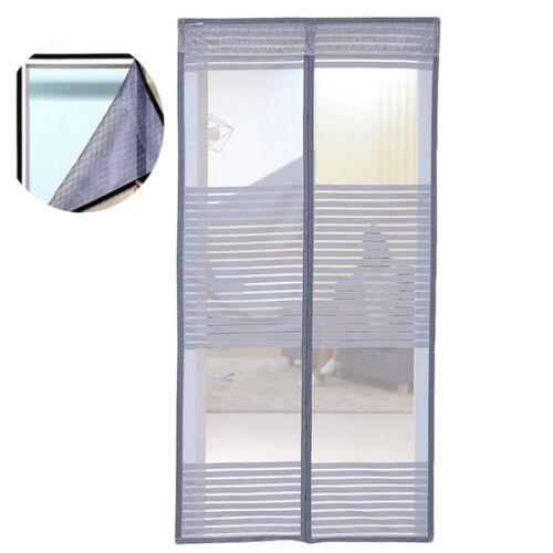 Fliegengitter Tür Türvorhang Insektenschutz Mückenschutz magnetisch Network S#