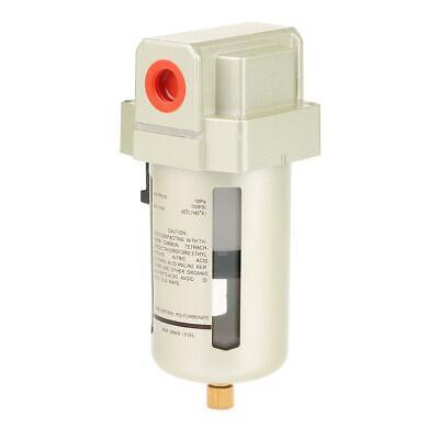 1 Pcs Af4000-04 Pt12 Brass Air Compressor Moisture Water Filter Durable