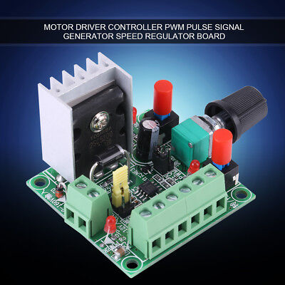 Stepper Motor Controller Pwm Pulse Signal Generator Speed Adjust Regulator Board