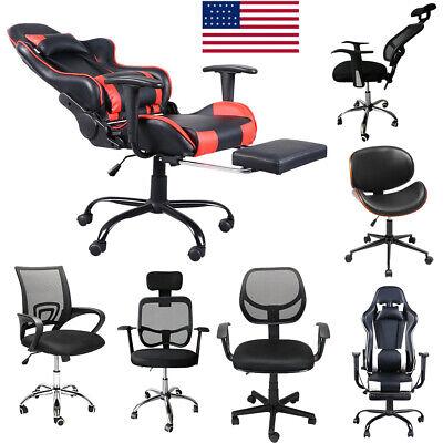 Gaming Chair Racing Ergonomic Recliner Office Computer Desk Seat Swivel Us