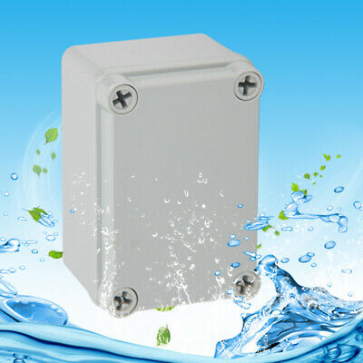 Waterproof Plastic Electrical Enclosure Junction Box Holders Diy Case Us