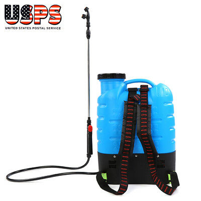 - 16L Backpack Agricultural Electric Sprayer Rechargeable 12-Volt Battery Powered