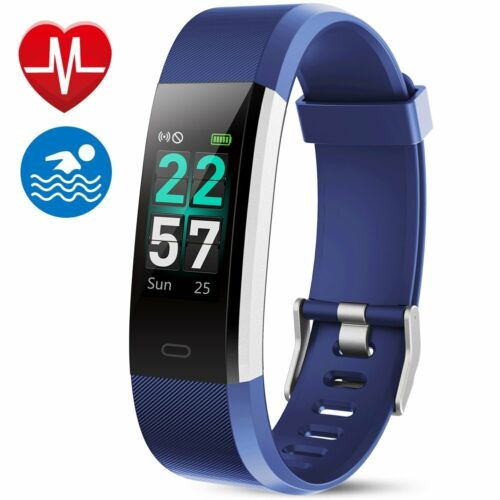 Fitness Tracker IP68 Waterproof Color Screen Fitness Watch A