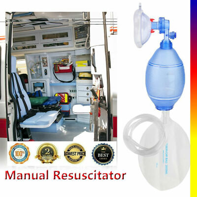 Manual Resuscitator Pvc Adult Ambu Bag Simple Breathing Apparatus First Aid