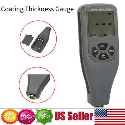 Digital Car Paint Thickness Tester Meter Coating Gauge Probe