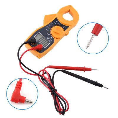 Digital Clamp Meter Multimeter Ac Dc Voltmeter Auto Range Volt Ohm Amp Tester Us