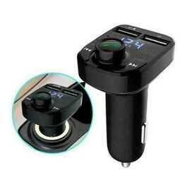Wireless Bluetooth Handsfree Car FM Transmitter MP3 Dual Charger New Player