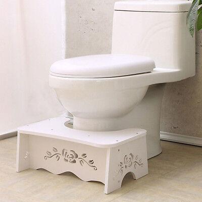 Toilettenhocker Toilettenstuhl Toilettenhilfe Tritthocker WC Hocker Hilf Schritt ()