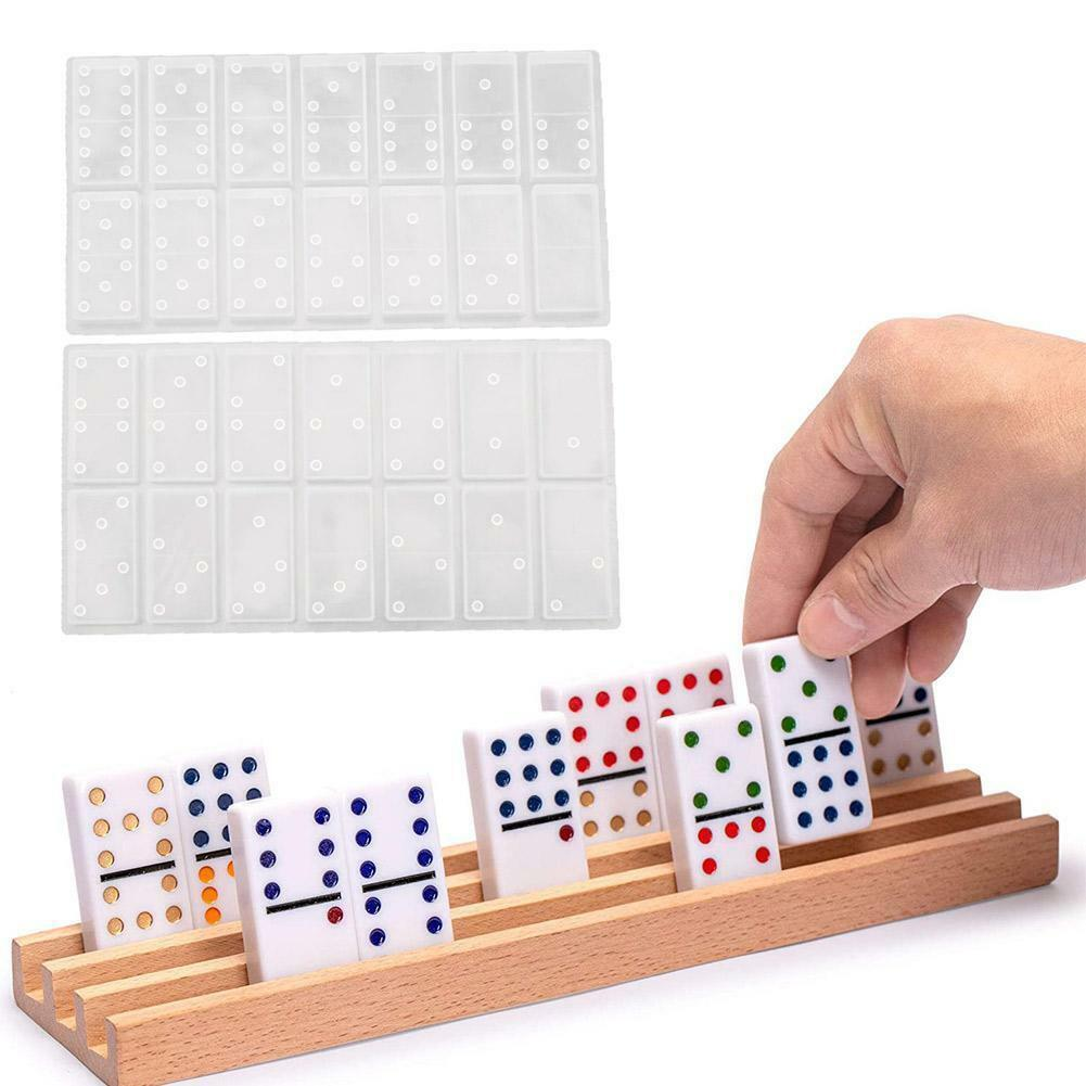 1 x silicone dominoes game toy making