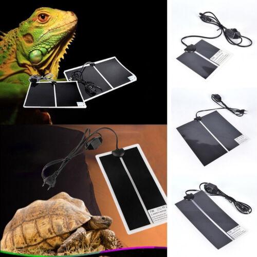 Pet Heat Mat For Reptile Brooder Incubator Heating Pad EU/US Plug 5/7/14/W New
