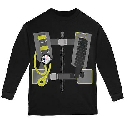Halloween - Scuba Diver Costume Youth Long Sleeve T - Scuba Diver Costumes
