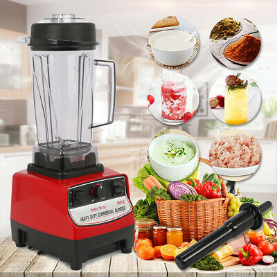 2l Heavy Duty Commercial Grade Blender Mixer For Juicer Food Fruit Ice 2200w