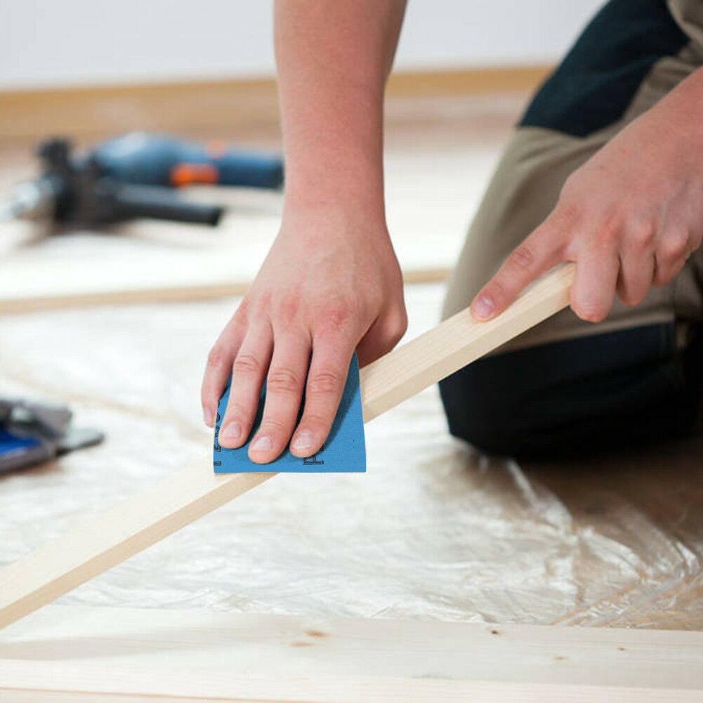 Wet Dry Sandpaper 80 -3000 Grit Assortment 9x3.6'' Abrasive Paper Sheet Sanding 10