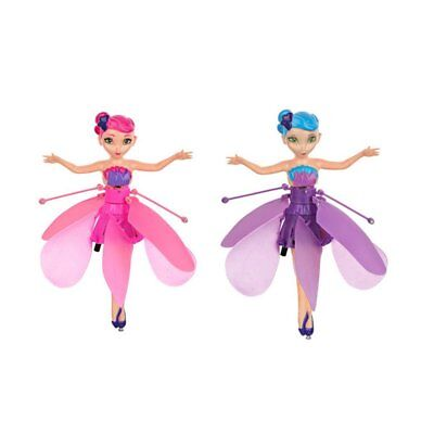 2 Packs Flying Fairy Doll Hand Infrared Induction Controlled Dolls Flying Toy