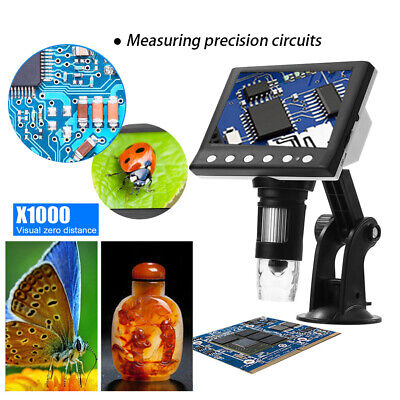 1000x Usb Digital Microscope 8 Led For Electronic Accessories Coin Inspection Us