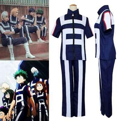 My Hero Academia Cosplay Kostüm Set Training Anzug Sportswear Sweatshirt - Sportswear Kostüm
