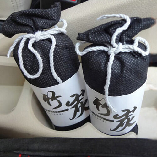 Dual-use Bag Bamboo Charcoal Activated Carbon Air Freshener Home Car Scent