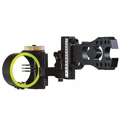 New Black Gold Ascent Verdict 3 Pin (.019) RH Bow Sight Black Model# AV3