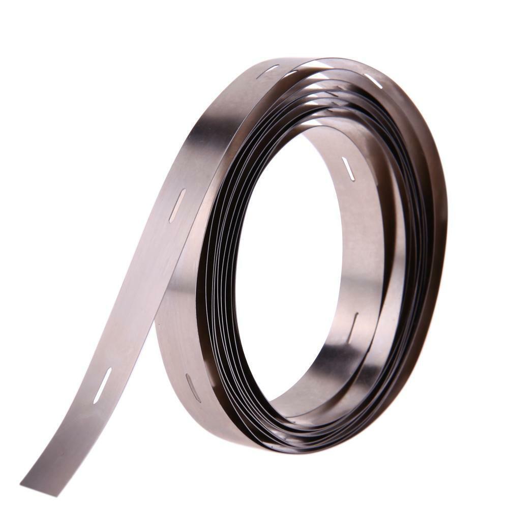 3 Meter 10mm x 0.1mm  Nickelband Akkuverbinder Lötfahnen Hiluminband