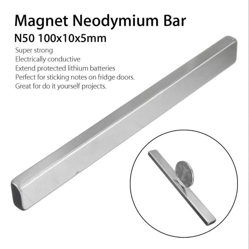 N50 Super Strong Long Block Rare Earth Neodymium Rectangular