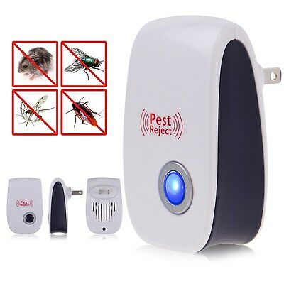 Electric Anti Mosquito Rat Mice Pest Bug Control Repeller Trap Night Lamp Killer