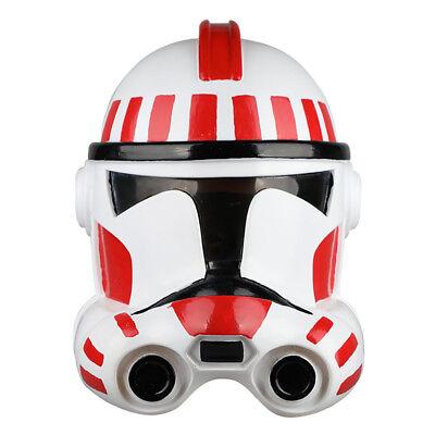 Star Wars Masks The Clone Wars Clone shock trooper Full Face Soldiers Cosplay - Star Wars Clone Trooper Cosplay