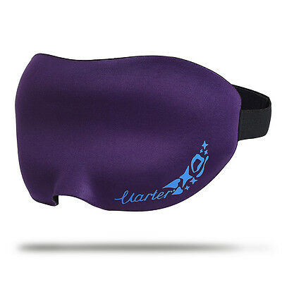 3D Travel Sleep Eye Mask Soft Memory Foam Padded Shade Cover Sleeping Blindfold