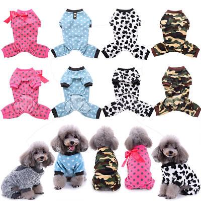 Best Pet Dog Jumpsuit Pajamas Clothing Puppy Cat Coat Clothes Costume Apparel - Best Cat Costume