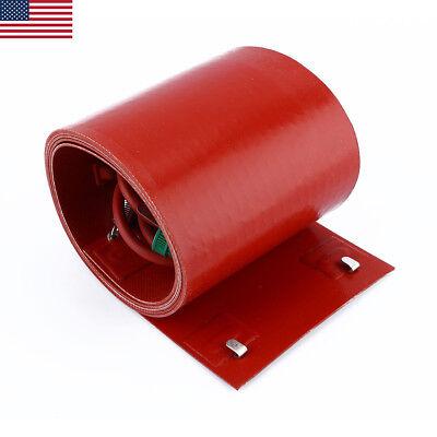 200l55gallon 240v 1000w Silicon Band Drum Heater Oil Biodiesel Metal Barrel