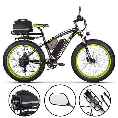 "RICHBIT elektrofahrrad 26"" herren 48V*1000W Heckmotor fat bike 17AH ebike"