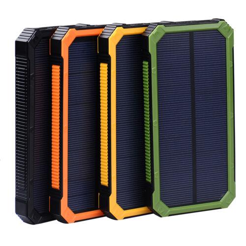 For Phone 50000mAh Portable USB External Battery Solar Power