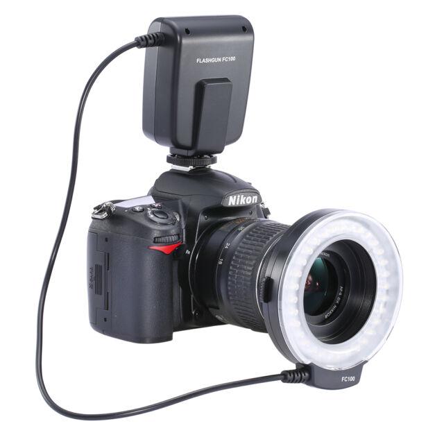 Neewer FC100 LED Macro Ring Flash For Canon 500D 550D 450D 400D 350D 60D 50D 40D