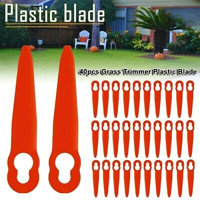 40 Teile Plastic Blade Set Schneider Ersatz for STIHL Polycut 2-2 Akku Trimmer