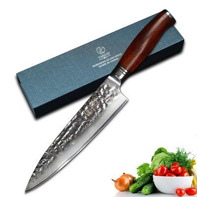 YARENH 8 inch Damascus Chef Knives Gyuto Knife Japanese VG10 Kitchen Knives