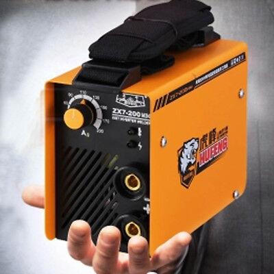 Handheld Mini Mma Electric Welder 220v 10-200a Inverter Arc Welding Machine Tool
