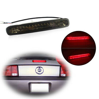 - 1PC Brilliant Red Third 3rd Brake Tail Lights LED Bar for 2005-2009 Ford Mustang