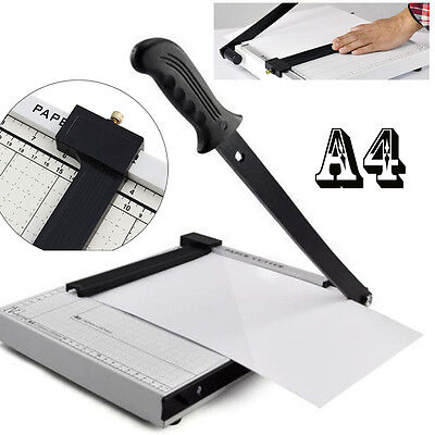 Foto Papier Schneidemaschine Hebelschneider Schneidegerät DIN A4 Cutter TOP