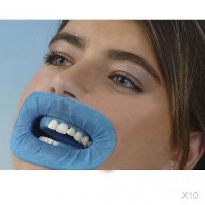 10x Dental O-shape Cheek Retractor Non Latex Rubber Lip Gum Dam Teeth Whitening