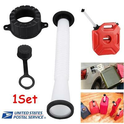 Replacement Fuel Gas Can Spout Stopper Screw Cap Kit For Rubbermaid Kolpin Gott