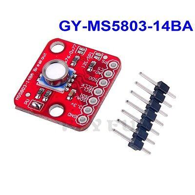 Ms5803-14ba Pressure Sensor Fluid Liquid Gas Breakout Module For Arduino I2c Spi
