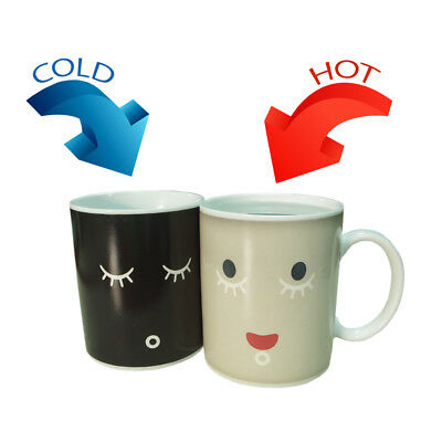 Gift Set for Tea Coffee Lovers, Wake-up Cup Temperature Cup and Blooming Tea